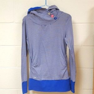 Ragwear Lucy Striped Pullover Soft Button Detail